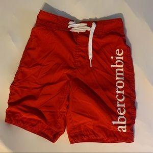Boys Abercrombie swim trunks